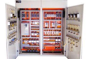 Installation of PLC control cabinet